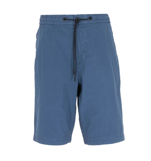 BOSS Sabriel Regular Fit Ocean Blue Drawstring Shorts
