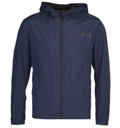 HUGO Ben 2021 Slim Fit Navy Hooded Jacket