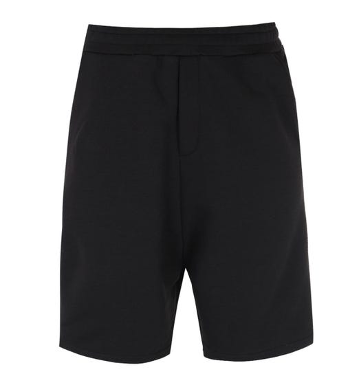 MCQ Alexander McQueen Taped Black Track Shorts