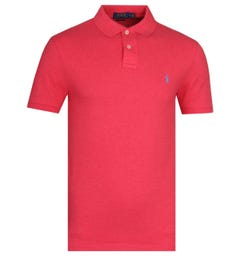 Polo Ralph Lauren Slim Fit Red Polo Shirt