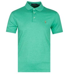 Polo Ralph Lauren Slim Fit Pima Fern Green Polo Shirt
