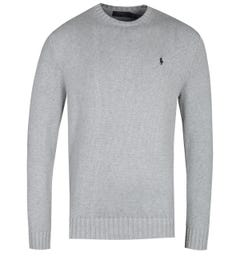 Polo Ralph Lauren Shaker Knit Grey Sweater