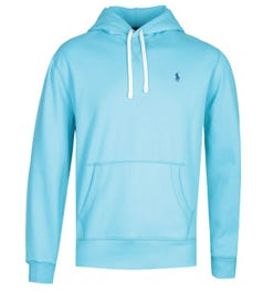 Polo Ralph Lauren Turquoise Pullover Logo Hoodie
