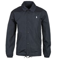 Polo Ralph Lauren Black Coach Jacket