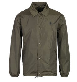 Polo Ralph Lauren Olive Green Coach Jacket