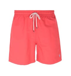 Polo Ralph Lauren Cinnabar Red Traveler Swim Shorts