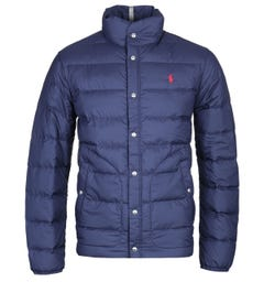 Polo Ralph Lauren Down Padded Navy Jacket