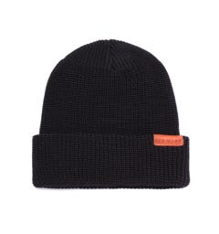 Red Wing Merino Wool Black Beanie Hat