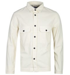 Albam White Cord Long Sleeve Shirt