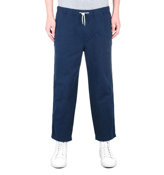 Albam Rip Stop Navy Drawstring Trousers