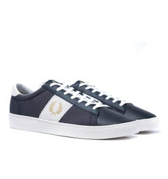 Fred Perry Spencer Suede Panel Navy Trainers