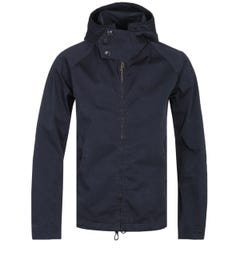 Ten C Midnight Navy OJJ Coated Canvas Anorak