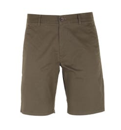 Farah Hawk Dark Green Chino Shorts