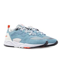 Karhu Fusion 2.0 Cameo Blue & Lily White Suede Trainers