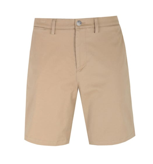 Lacoste Regular Beige Chino Shorts