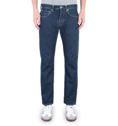 Edwin ED-55 Regular Tapered Yoshiko Left Hand 12.6 Oz Akira Wash Blue Denim Jeans