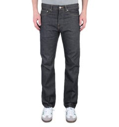 Edwin ED-80 Yoshiko Slim Fit 12.6OZ Unwashed Dark Blue Denim Jeans