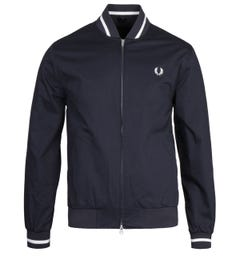 Fred Perry Navy Tennis Bomber Jacket