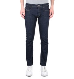 Replay Rocco Slim Fit Deep Blue Power Stretch Denim Jeans