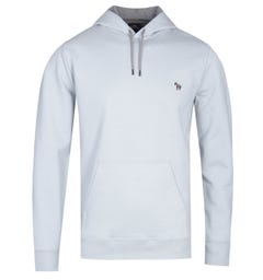 PS Paul Smith Dusty Blue Loopback Hoodie