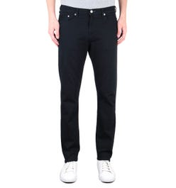 PS Paul Smith Tapered Fit Blue & Black Denim Jeans