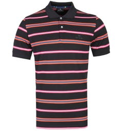 PS Paul Smith Multi Striped Polo Shirt