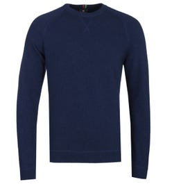 PS Paul Smith Crew Neck Navy Sweater