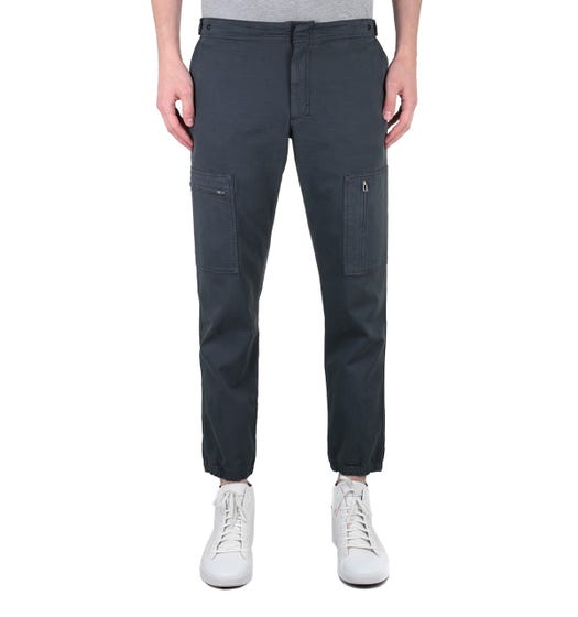 PS Paul Smith Charcoal Grey Flight Pants