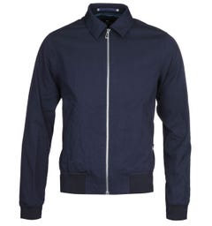 PS Paul Smith Navy Collared Bomber Jacket