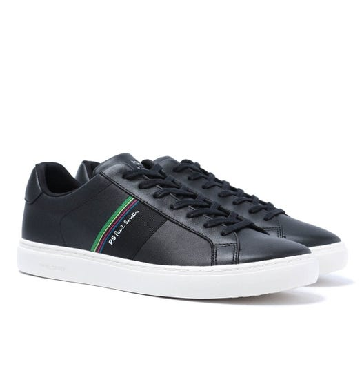 PS Paul Smith Rex Black Leather Trainers