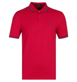 Fred Perry M3600 Siren Red Polo Shirt