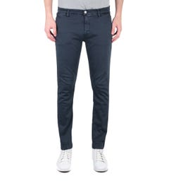 Replay Hyperflex Zeumar Navy Denim Chinos