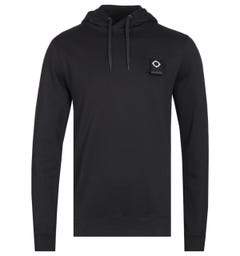 MA.Strum Jet Black Overhead Training Hoodie