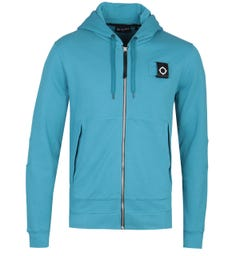 MA.Strum Full Zip Iceberg Blue Training Hoodie