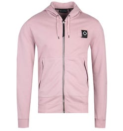 MA.Strum Full Zip Cassis Pink Training Hoodie
