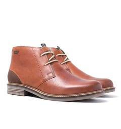 Barbour Tan Readhead Leather Chukka Boots