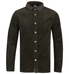 Barbour Beacon Forest Green Tarn Cord Overshirt