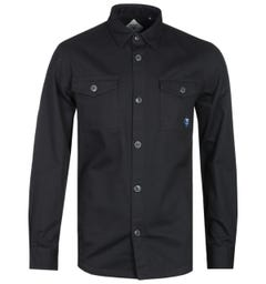 Barbour Beacon Black Double Pocket Overshirt
