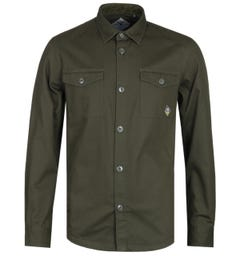 Barbour Beacon Forest Green Double Pocket Overshirt