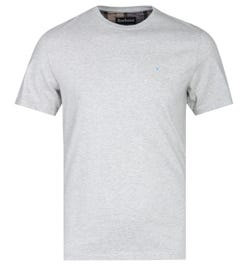 Barbour Tailored FIt Arboyne Grey Marl T-Shirt