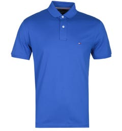 Tommy Hilfiger Regular Fit Electric Blue Polo Shirt