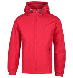 Tommy Hilfiger THTech Insulated Red Hooded Jacket