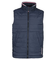 Tommy Hilfiger Stretch Quilted Navy Gilet