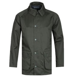 Barbour Bedale White Label Waterproof Sage Green Jacket