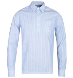 Norse Projects Oscar Blue Stripe Oxford Shirt
