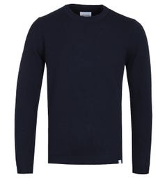 Norse Projects Sigfred Dark Navy Sweater
