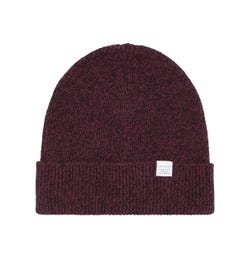 Norse Projects Mulberry Red Twist Beanie