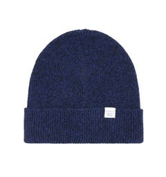 Norse Projects Dark Navy Twist Beanie