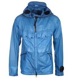 CP Company NyBer Ocean Blue Explorer Goggle Jacket