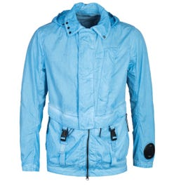 CP Company M.T.t.N Mille Sky Blue Goggle Jacket